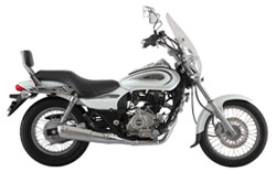 rent bajaj avenger bike in kashmir