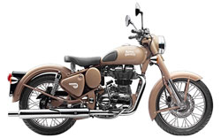 Rent Royal Enfield DesertStorm In Kashmir
