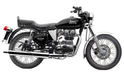 Royal Enfield BulletElectra rent in srinagar